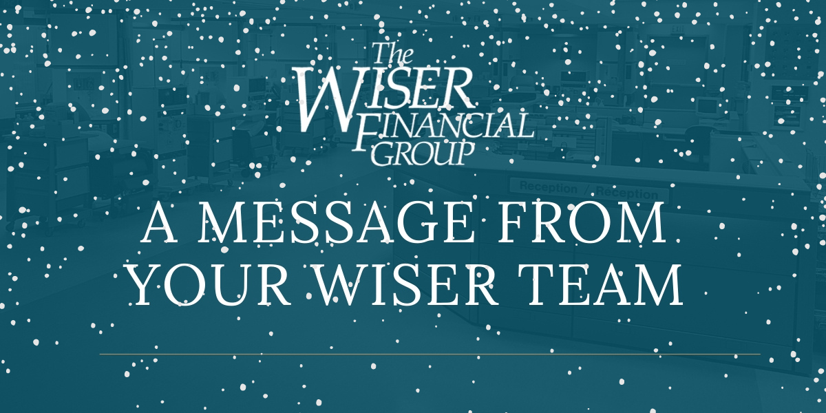 Firm Update: 2020 Wiser Holiday Business Hours